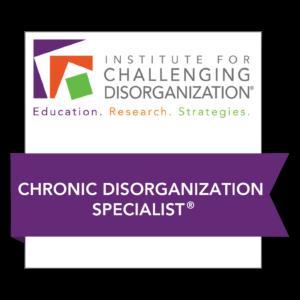 ICD Chronic Disorganization
